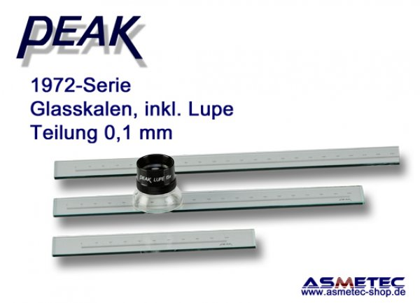 PEAK-1972-50 Glasskala - www.asmetec-shop.de